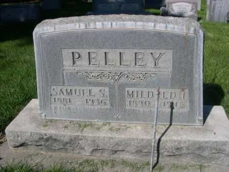 PELLEY, MILDRED I. - Dawes County, Nebraska | MILDRED I. PELLEY - Nebraska Gravestone Photos