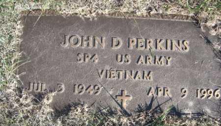 PERKINS, JOHN D - Dawes County, Nebraska   JOHN D PERKINS - Nebraska Gravestone Photos