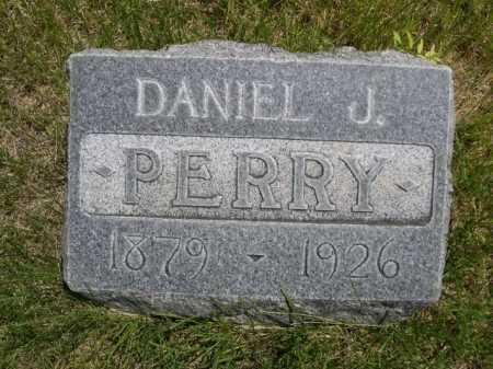 PERRY, DANIEL J. - Dawes County, Nebraska | DANIEL J. PERRY - Nebraska Gravestone Photos