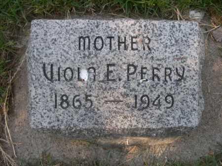 PERRY, VIOLA E. - Dawes County, Nebraska | VIOLA E. PERRY - Nebraska Gravestone Photos
