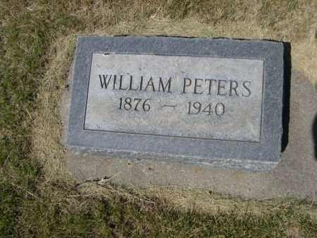 PETERS, WILLIAM - Dawes County, Nebraska   WILLIAM PETERS - Nebraska Gravestone Photos