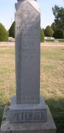 PETERSEN, MARIE M. - Dawes County, Nebraska | MARIE M. PETERSEN - Nebraska Gravestone Photos