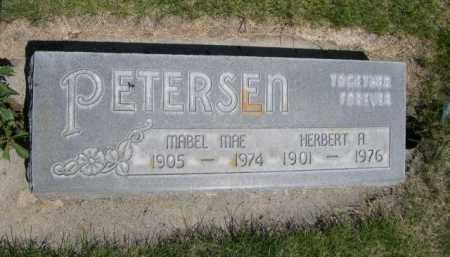 PETERSEN, HERBERT A. - Dawes County, Nebraska | HERBERT A. PETERSEN - Nebraska Gravestone Photos