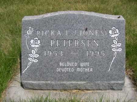 JONES PETERSEN, RICKA L. - Dawes County, Nebraska | RICKA L. JONES PETERSEN - Nebraska Gravestone Photos