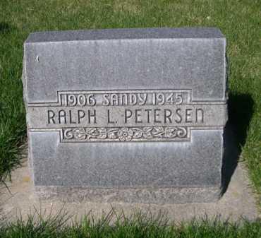 PETERSEN, RALPH L. - Dawes County, Nebraska | RALPH L. PETERSEN - Nebraska Gravestone Photos
