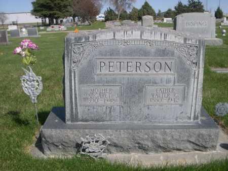 PETERSON, MARGARET J. - Dawes County, Nebraska | MARGARET J. PETERSON - Nebraska Gravestone Photos