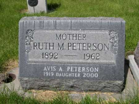 PETERSON, RUTH M. - Dawes County, Nebraska | RUTH M. PETERSON - Nebraska Gravestone Photos