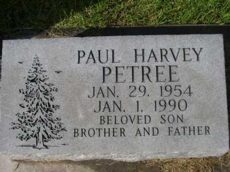 PETREE, PAUL HARVEY - Dawes County, Nebraska   PAUL HARVEY PETREE - Nebraska Gravestone Photos