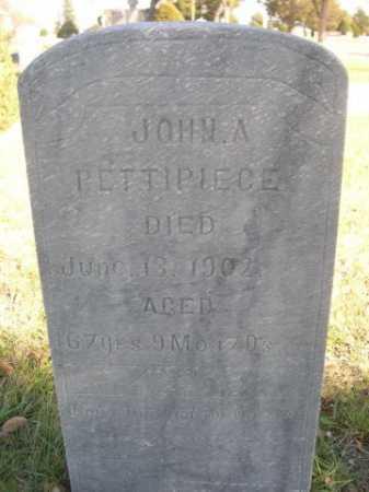PETTIPIECE, JOHN A. - Dawes County, Nebraska | JOHN A. PETTIPIECE - Nebraska Gravestone Photos