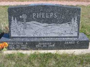PHELPS, VIRGINIA A. - Dawes County, Nebraska | VIRGINIA A. PHELPS - Nebraska Gravestone Photos