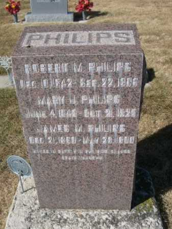 PHILIPS, MARY J. - Dawes County, Nebraska | MARY J. PHILIPS - Nebraska Gravestone Photos