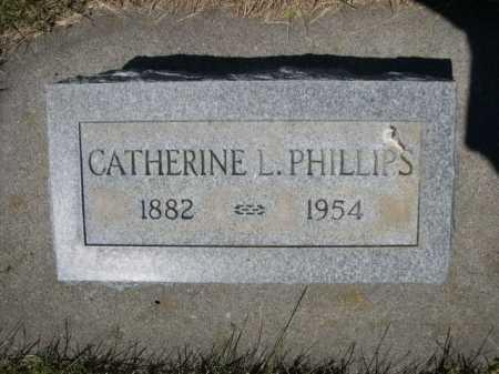 PHILLIPS, CATHERINE L. - Dawes County, Nebraska | CATHERINE L. PHILLIPS - Nebraska Gravestone Photos