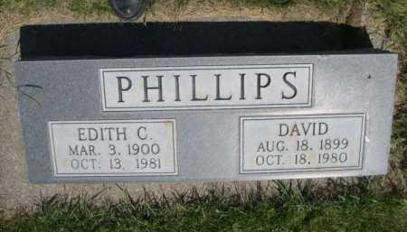PHILLIPS, EDITH C. - Dawes County, Nebraska | EDITH C. PHILLIPS - Nebraska Gravestone Photos