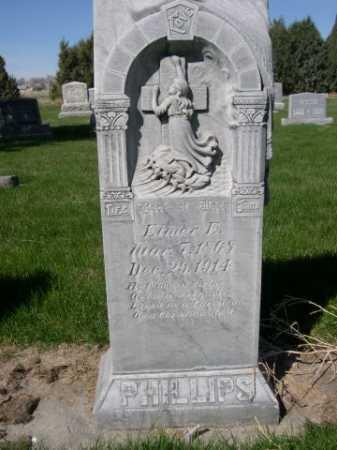 PHILLIPS, ELMER E. - Dawes County, Nebraska | ELMER E. PHILLIPS - Nebraska Gravestone Photos