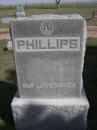 PHILLIPS, FAMILY - Dawes County, Nebraska   FAMILY PHILLIPS - Nebraska Gravestone Photos