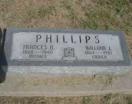 PHILLIPS, FRANCES A. - Dawes County, Nebraska | FRANCES A. PHILLIPS - Nebraska Gravestone Photos