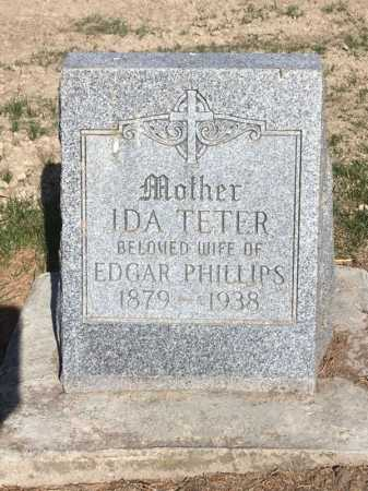PHILLIPS, IDA - Dawes County, Nebraska | IDA PHILLIPS - Nebraska Gravestone Photos