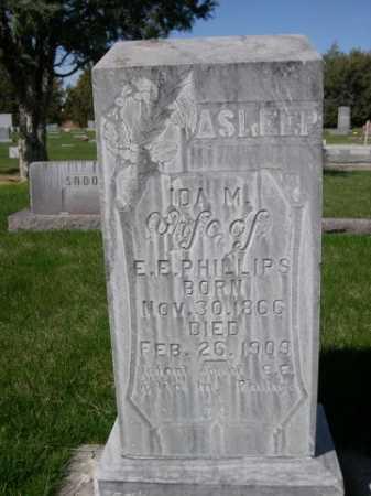 PHILLIPS, IDA M. - Dawes County, Nebraska | IDA M. PHILLIPS - Nebraska Gravestone Photos