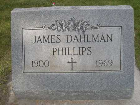 PHILLIPS, JAMES DAHLMAN - Dawes County, Nebraska | JAMES DAHLMAN PHILLIPS - Nebraska Gravestone Photos