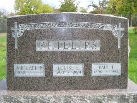 PHILLIPS, PAUL L. - Dawes County, Nebraska | PAUL L. PHILLIPS - Nebraska Gravestone Photos