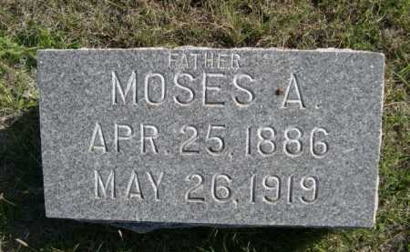 PHILLIPS, MOSES A. - Dawes County, Nebraska | MOSES A. PHILLIPS - Nebraska Gravestone Photos