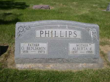 PHILLIPS, ALBERTA R. - Dawes County, Nebraska | ALBERTA R. PHILLIPS - Nebraska Gravestone Photos