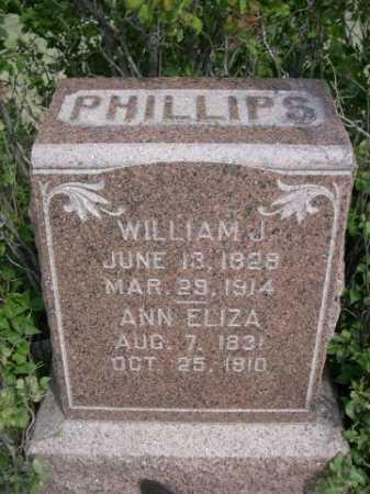 PHILLIPS, ANN ELIZA - Dawes County, Nebraska | ANN ELIZA PHILLIPS - Nebraska Gravestone Photos