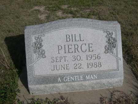 PIERCE, BILL - Dawes County, Nebraska   BILL PIERCE - Nebraska Gravestone Photos