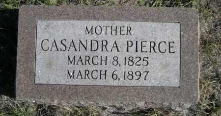 PIERCE, CASANDRA - Dawes County, Nebraska | CASANDRA PIERCE - Nebraska Gravestone Photos