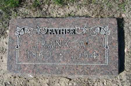 PIERCE, FRANK A. - Dawes County, Nebraska   FRANK A. PIERCE - Nebraska Gravestone Photos