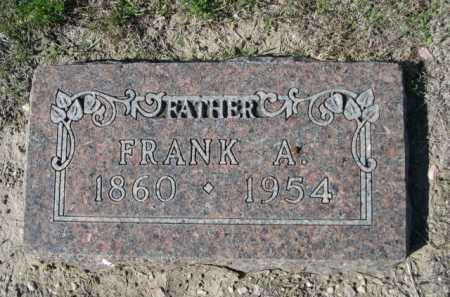 PIERCE, FRANK A. - Dawes County, Nebraska | FRANK A. PIERCE - Nebraska Gravestone Photos