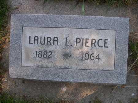 PIERCE, LAURA L. - Dawes County, Nebraska | LAURA L. PIERCE - Nebraska Gravestone Photos