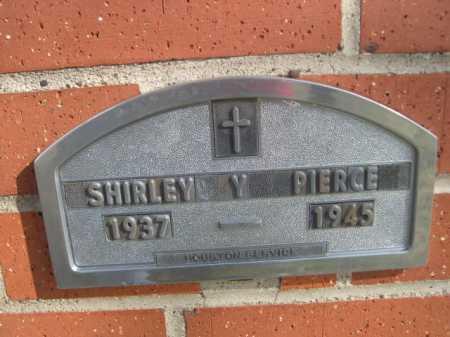 PIERCE, SHIRLEY Y. - Dawes County, Nebraska | SHIRLEY Y. PIERCE - Nebraska Gravestone Photos
