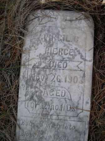 PIERCE, VIRGIL C. - Dawes County, Nebraska | VIRGIL C. PIERCE - Nebraska Gravestone Photos