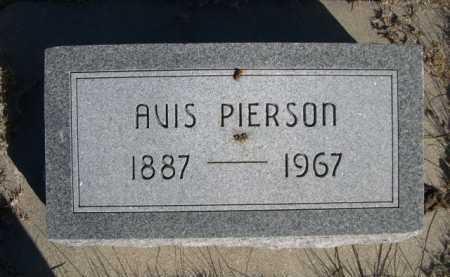 PIERSON, AVIS - Dawes County, Nebraska   AVIS PIERSON - Nebraska Gravestone Photos