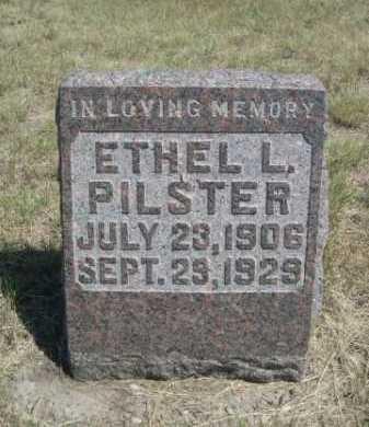 PILSTER, ETHEL L. - Dawes County, Nebraska | ETHEL L. PILSTER - Nebraska Gravestone Photos