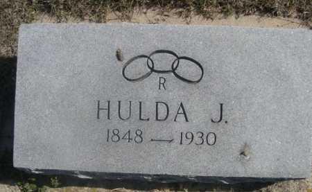 PILSTER, HULDA J. - Dawes County, Nebraska | HULDA J. PILSTER - Nebraska Gravestone Photos