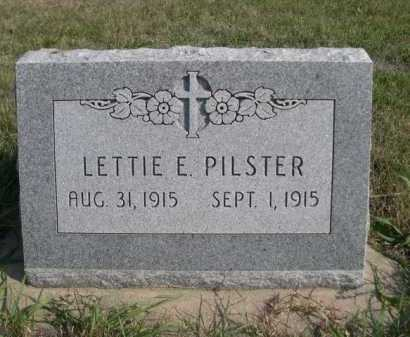 PILSTER, LETTIE E. - Dawes County, Nebraska | LETTIE E. PILSTER - Nebraska Gravestone Photos