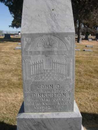 PINKERTON, JOHN C. - Dawes County, Nebraska | JOHN C. PINKERTON - Nebraska Gravestone Photos