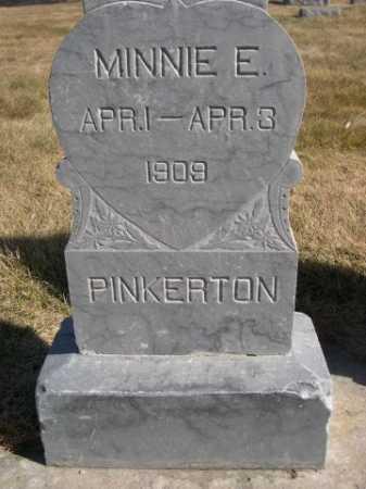 PINKERTON, MINNIE E. - Dawes County, Nebraska | MINNIE E. PINKERTON - Nebraska Gravestone Photos