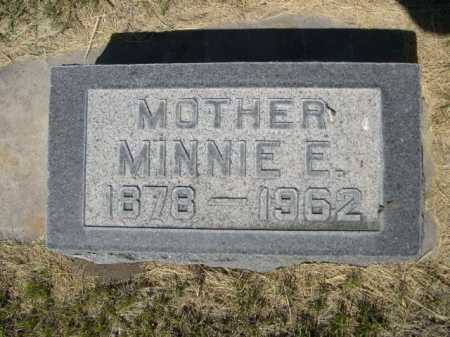 PINKERTON, MINNIE E. - Dawes County, Nebraska | MINNIE E. PINKERTON - Nebraska Gravestone Photos