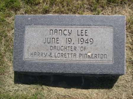 PINKERTON, NANCY LEE - Dawes County, Nebraska | NANCY LEE PINKERTON - Nebraska Gravestone Photos