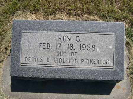 PINKERTON, TROY G - Dawes County, Nebraska   TROY G PINKERTON - Nebraska Gravestone Photos