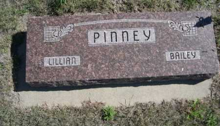 PINNEY, BAILEY - Dawes County, Nebraska | BAILEY PINNEY - Nebraska Gravestone Photos