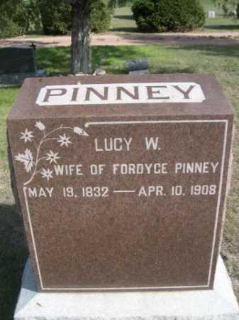 PINNEY, LUCY W. - Dawes County, Nebraska | LUCY W. PINNEY - Nebraska Gravestone Photos