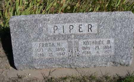 PIPER, KATHRINE M. - Dawes County, Nebraska | KATHRINE M. PIPER - Nebraska Gravestone Photos