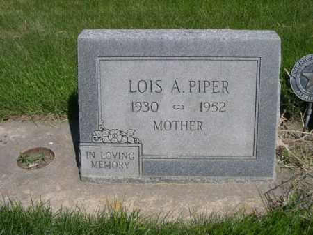 PIPER, LOIS A. - Dawes County, Nebraska | LOIS A. PIPER - Nebraska Gravestone Photos