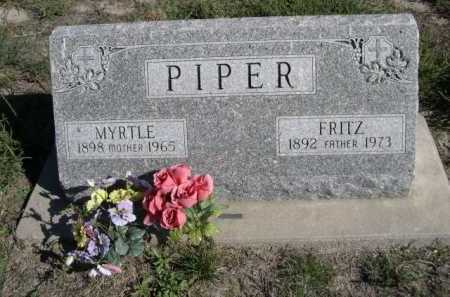 PIPER, MYRTLE - Dawes County, Nebraska | MYRTLE PIPER - Nebraska Gravestone Photos