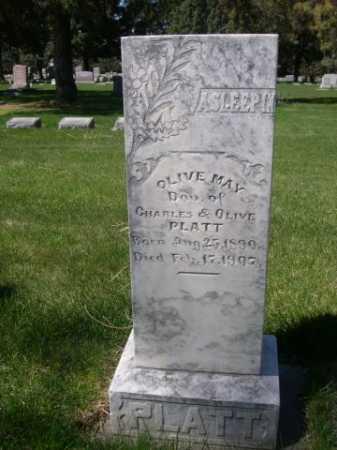 PLATT, OLIVE MAY - Dawes County, Nebraska   OLIVE MAY PLATT - Nebraska Gravestone Photos