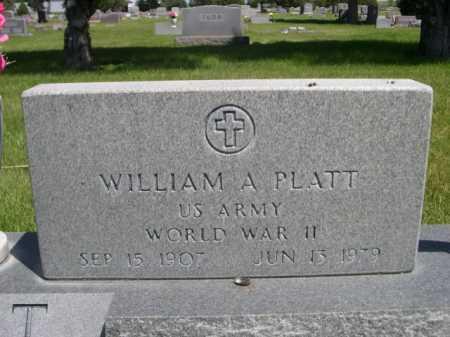 PLATT, WILLIAM - Dawes County, Nebraska   WILLIAM PLATT - Nebraska Gravestone Photos